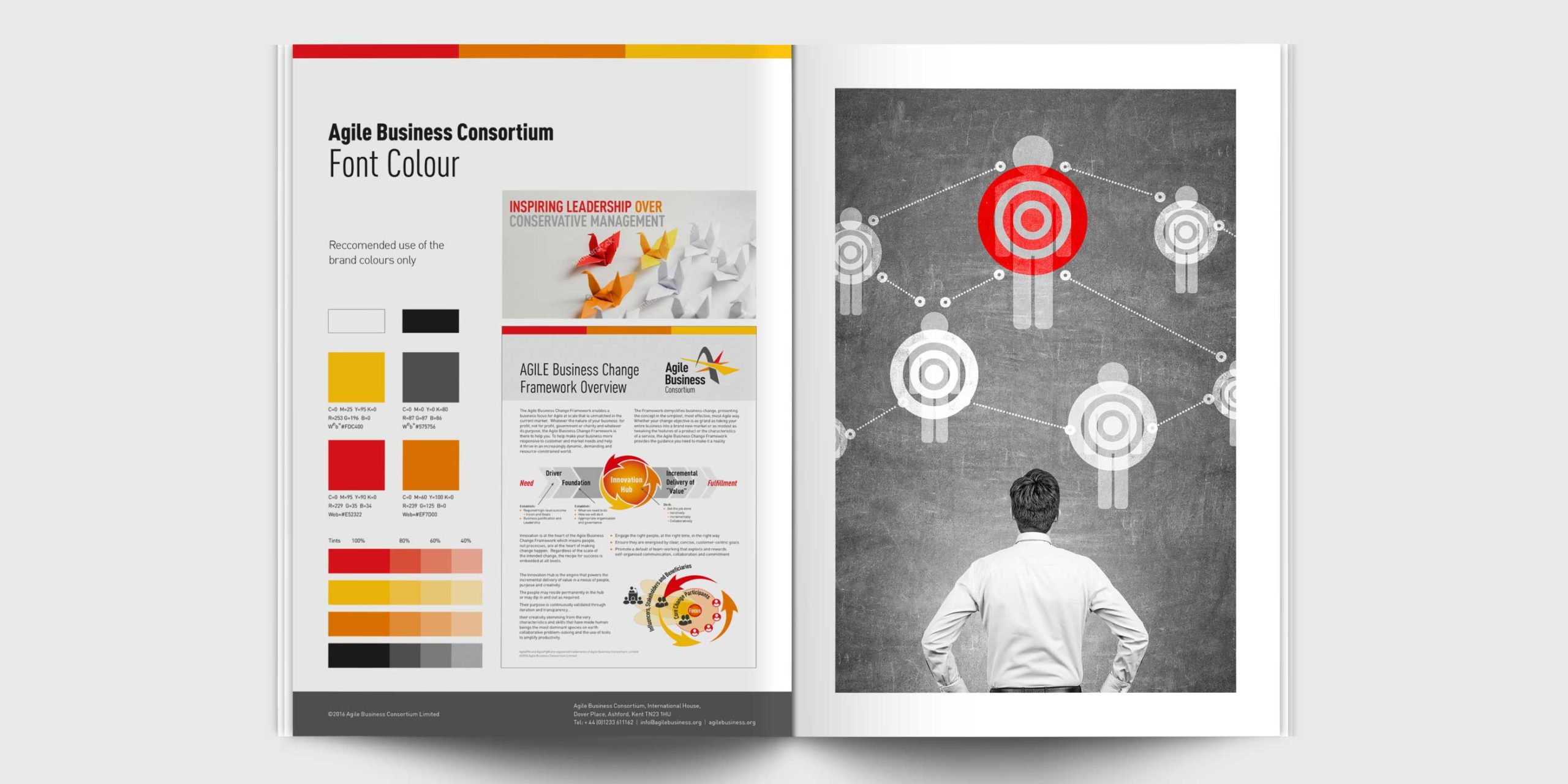 Agile Brand Guidelines - Font and Colour
