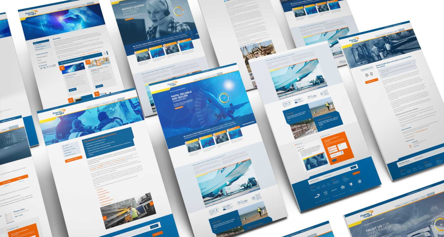 Priority Freight Website Pages