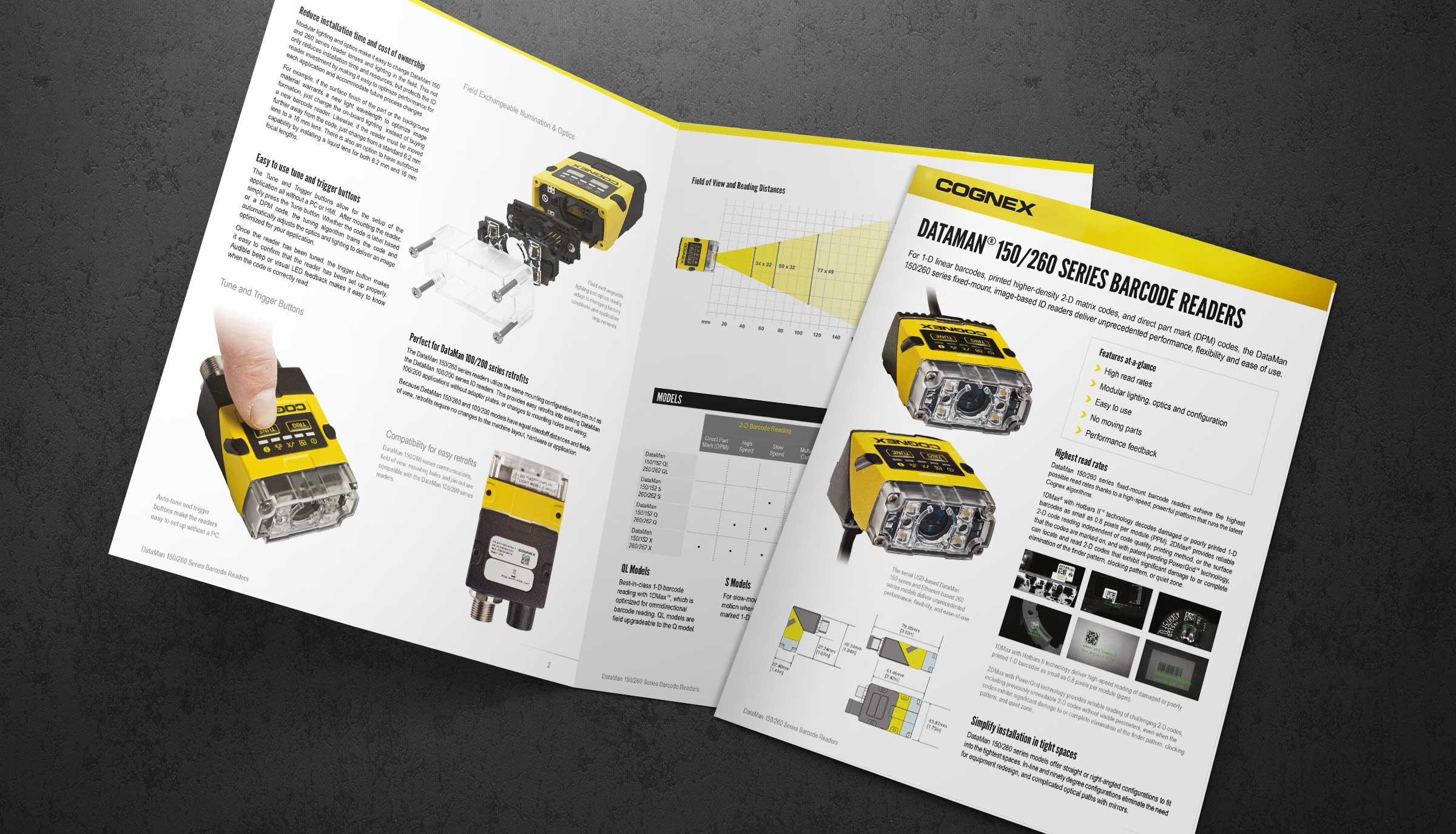 Gognex Dataman Product Datasheets