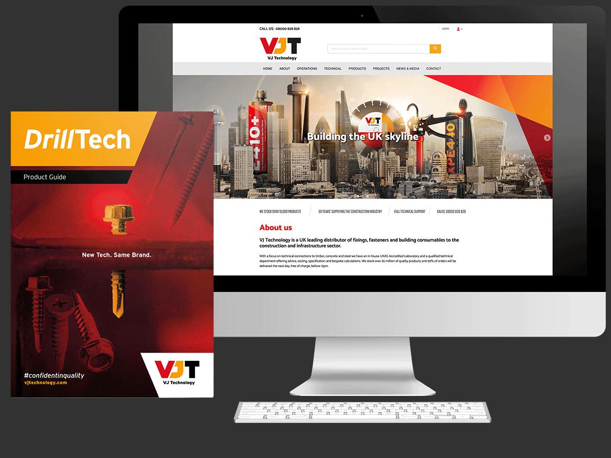 VJ Technology - Showcase-New - Website and Brochure
