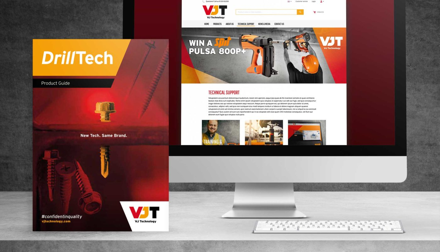 VJ Technology Showcase Website Brochure