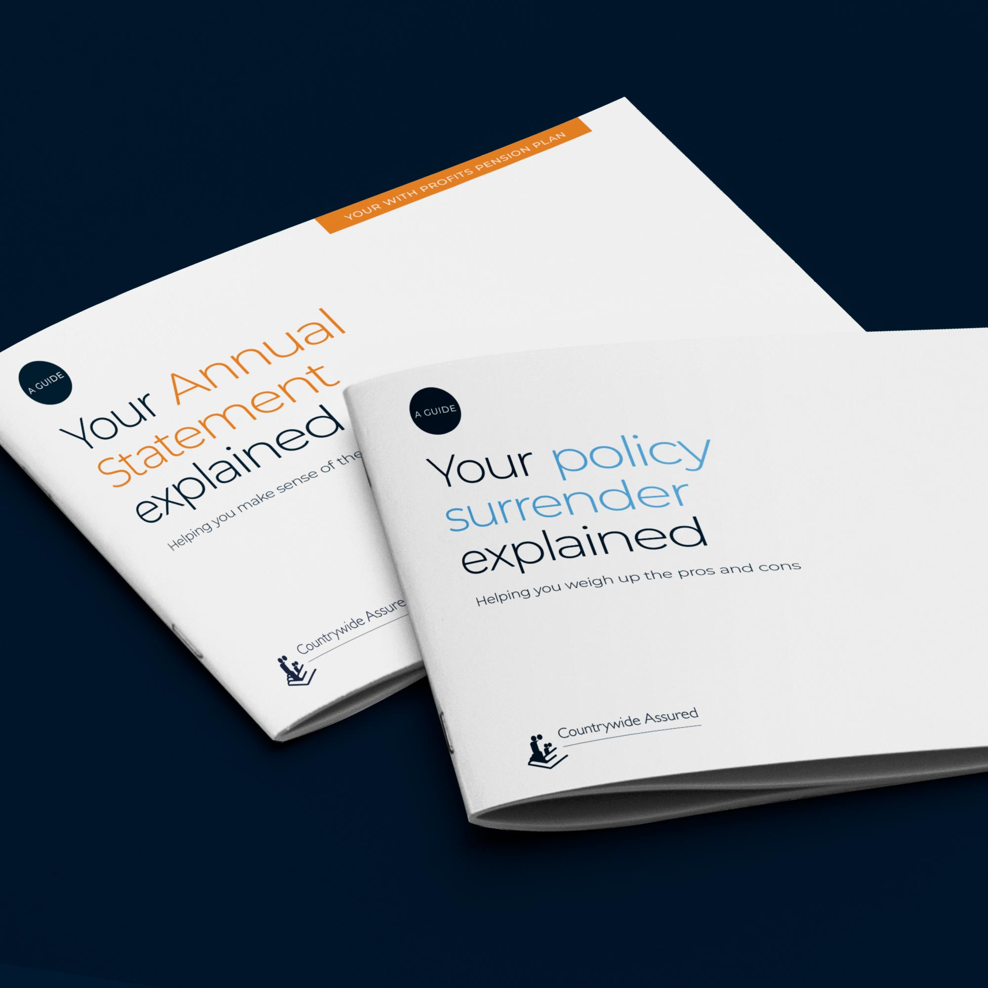 Countrywide Assured Financial Services Design - Guide Covers