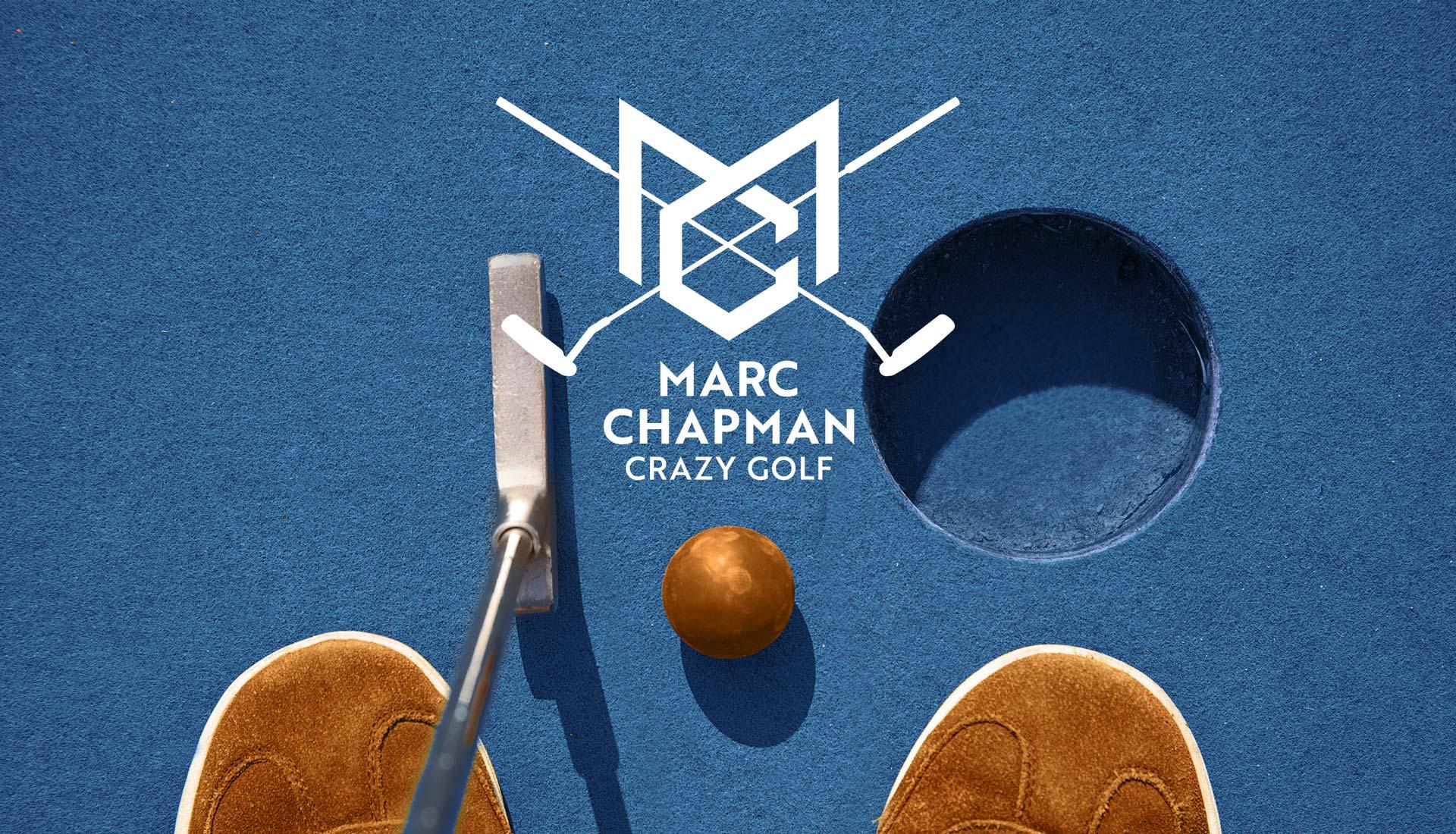 Marc Chapman Crazy Golf World Champion
