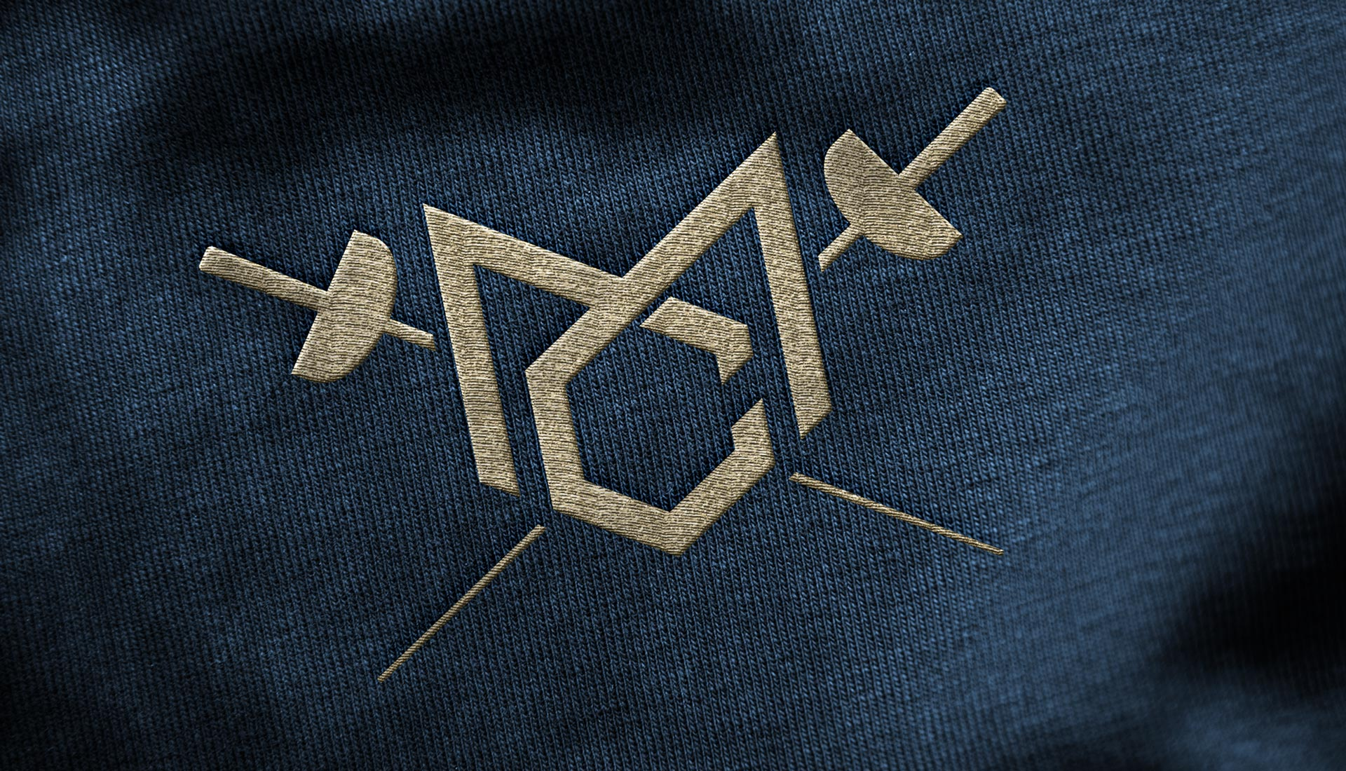 Marc Chapman New Logo Embroidered Jumper