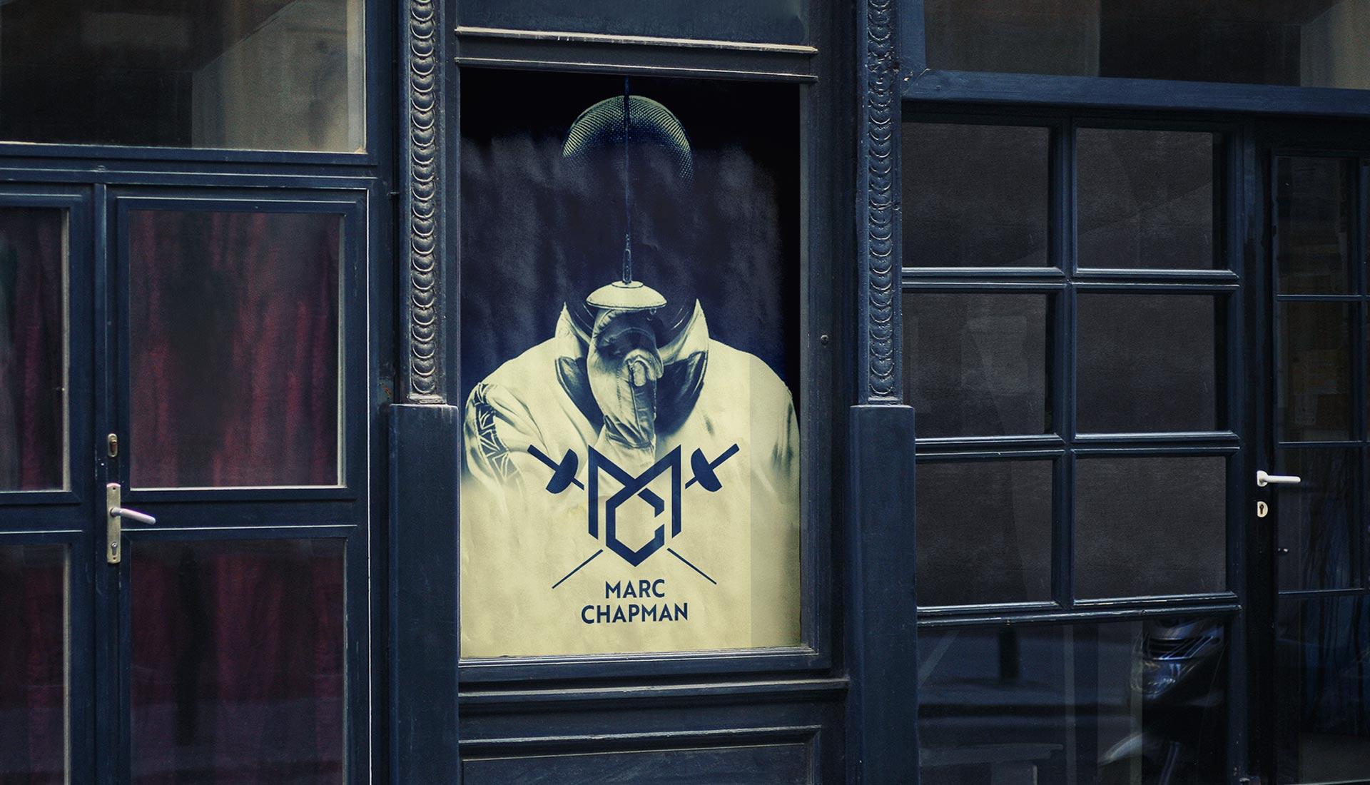 Marc Chapman New Logo Studio