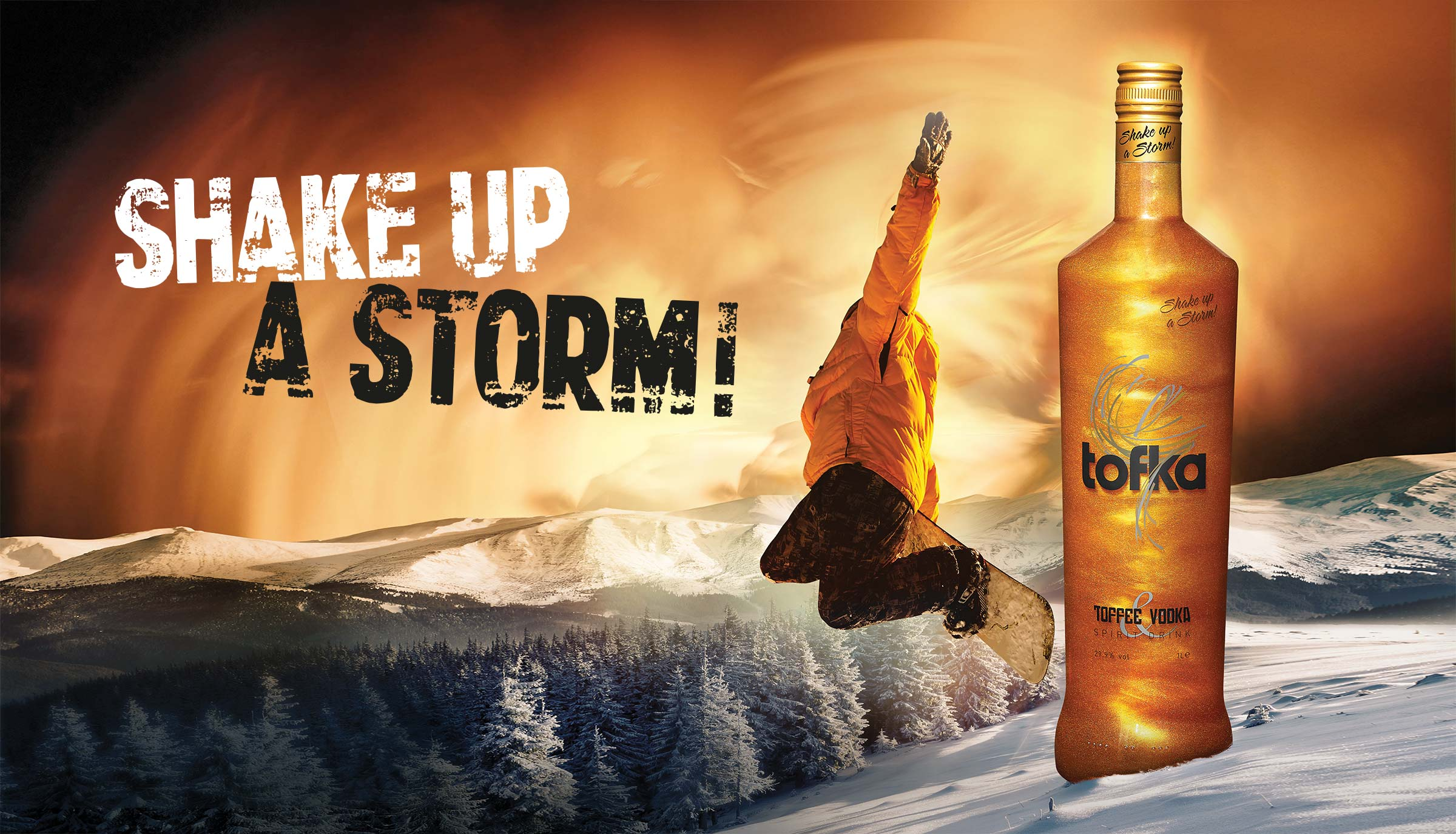 Tofka toffee vodka shake-up-a-storm