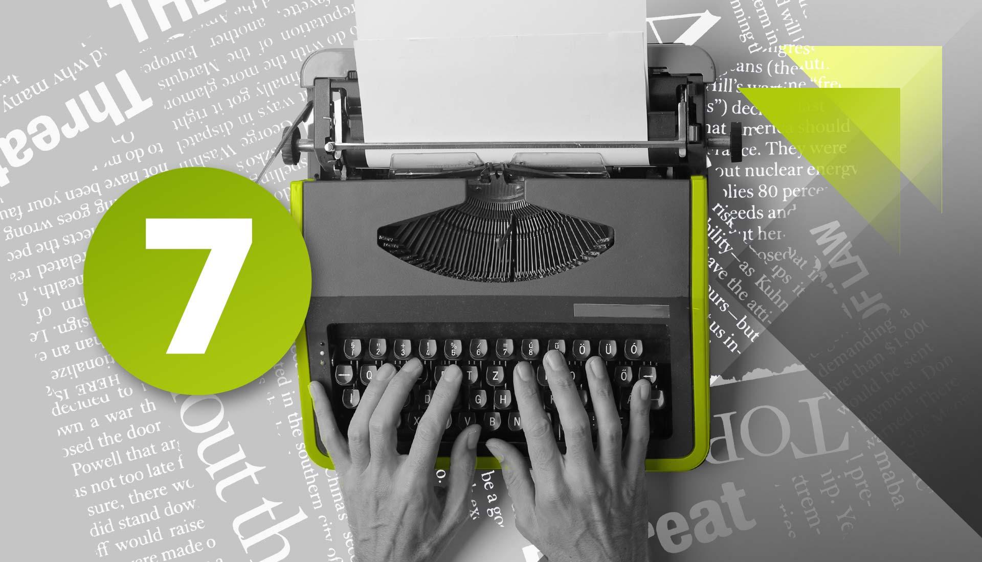 Seven blogging tips for business