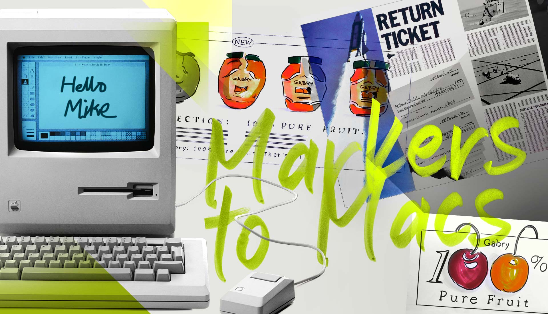 Brandspace - From Markers to Macs