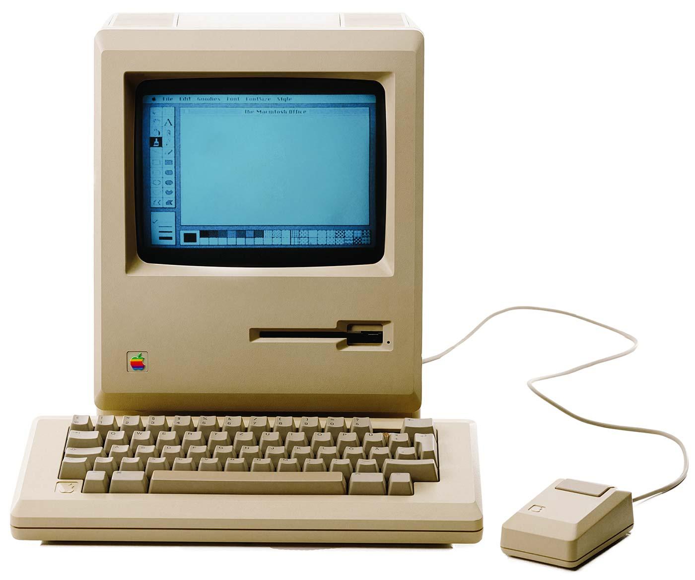 Old Apple Mac Computer
